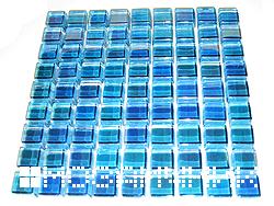 Как укладывать стеклянную мозаику
