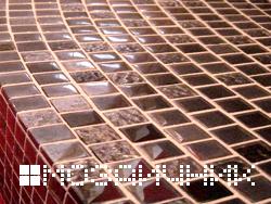 Как уложить мозаику по радиусу