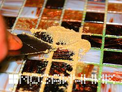 Укладка керамической мозаики
