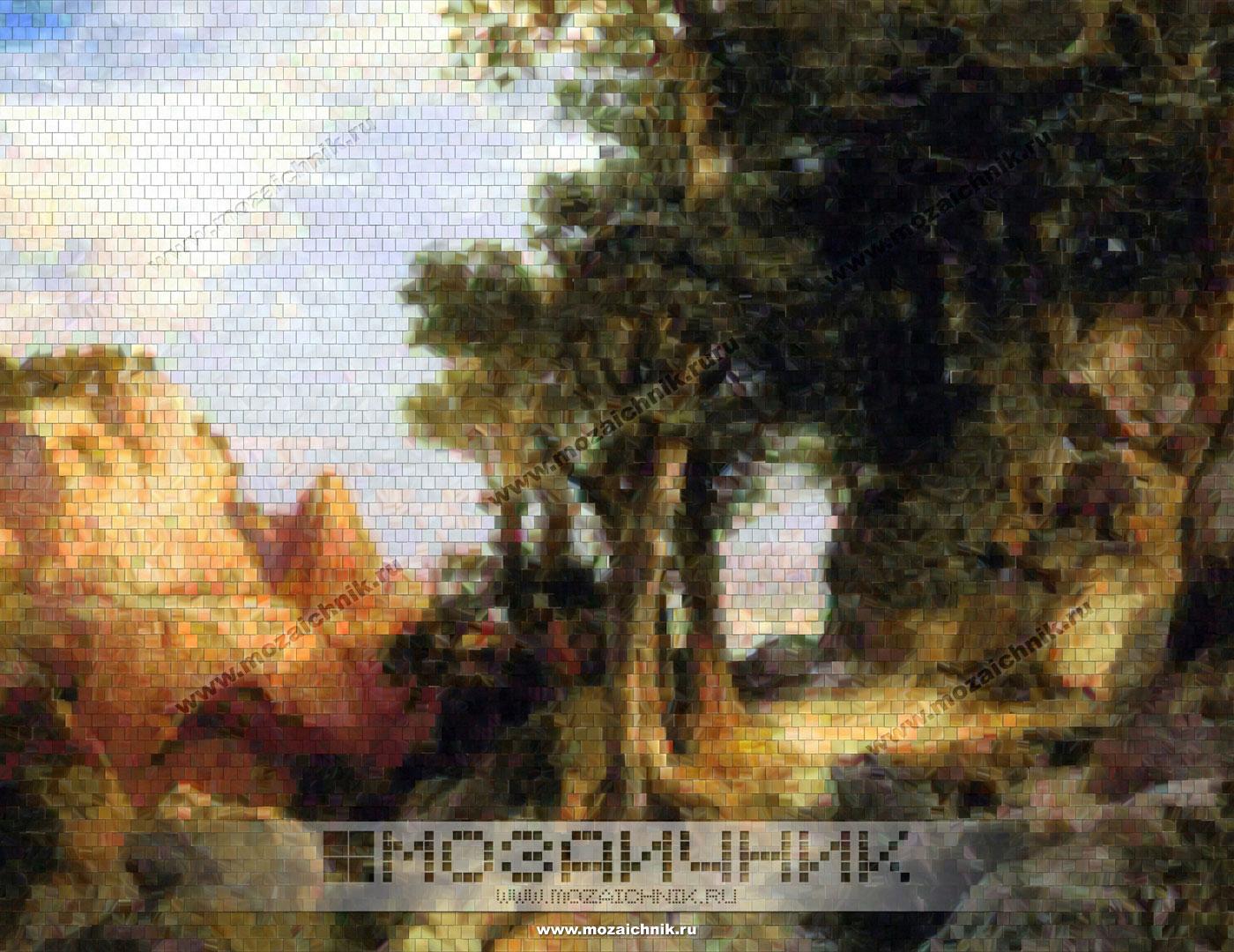 Отделочные материалы: мозаика