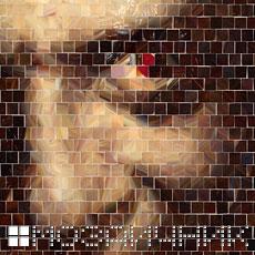 Мозаичное панно из витражного стекла ганнибал