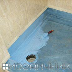 Системная гидроизоляция поддона