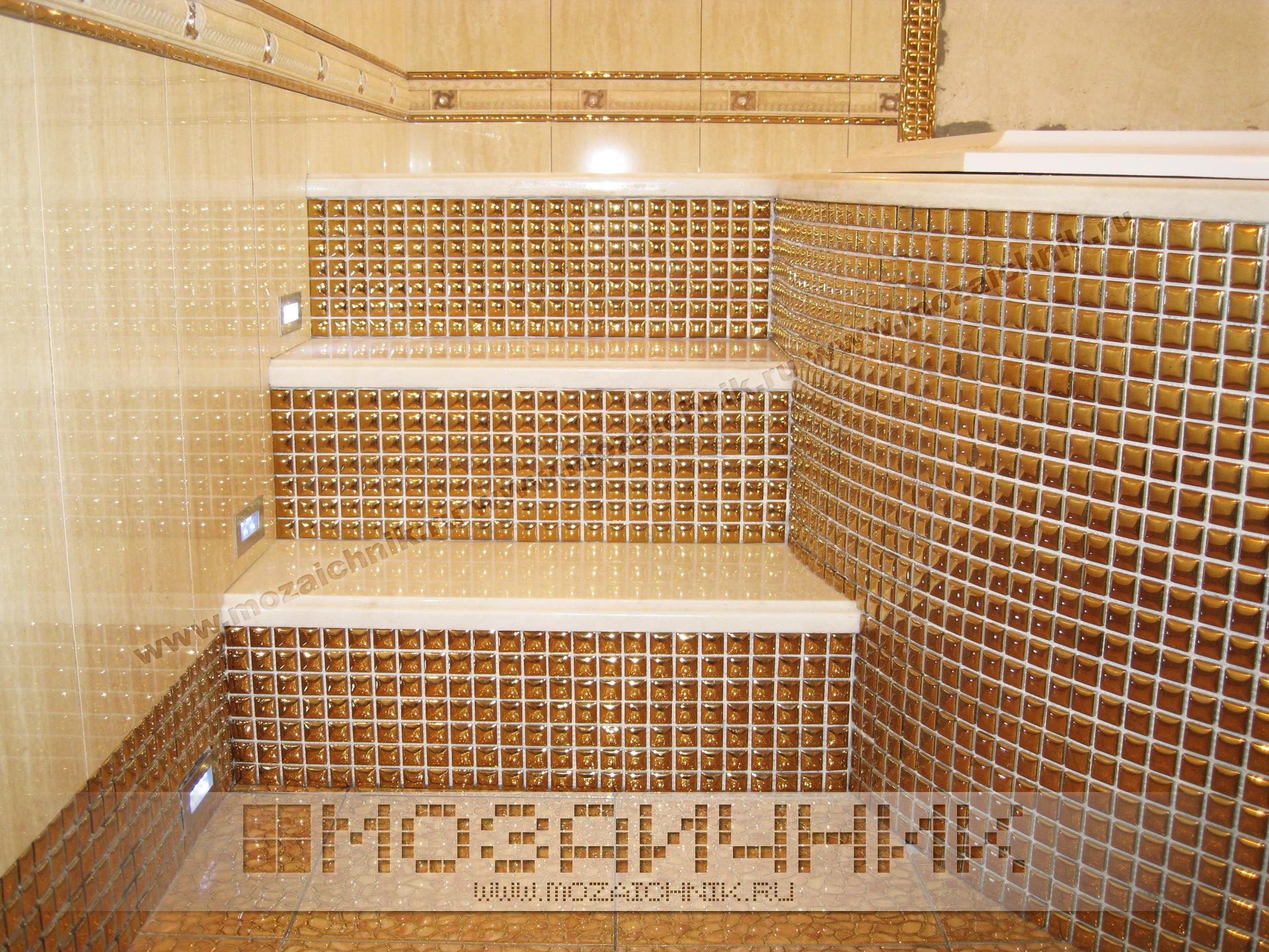 Плитка-мозаика в дизайне