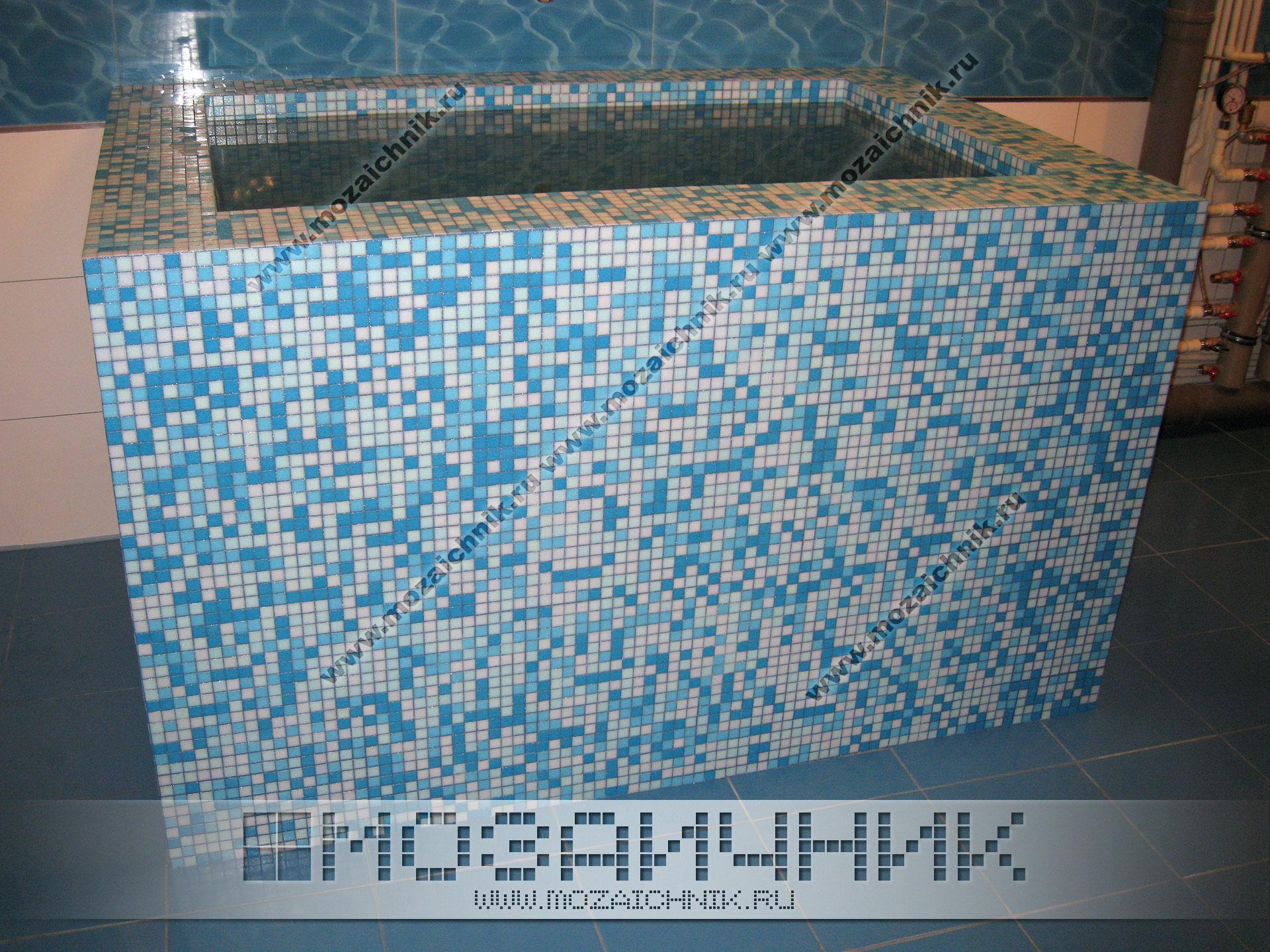 Отделка стен бассейна