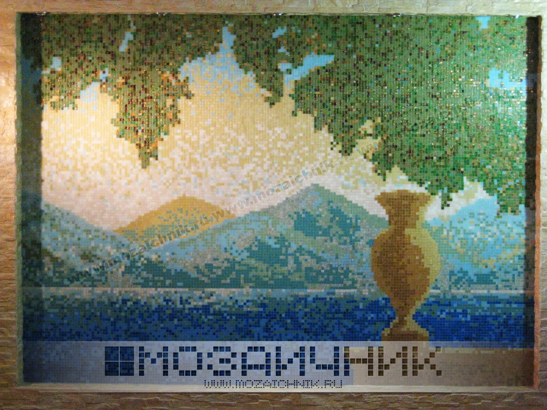 Размеры мозаики