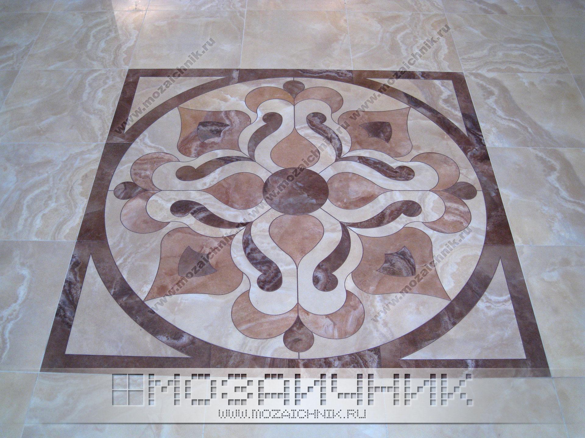 Мозаика из керамогранита