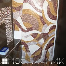 Центр мозаичного панно фото