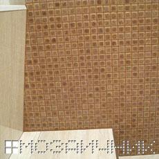 Укладка плитки с мозаикой в ванной комнате фото