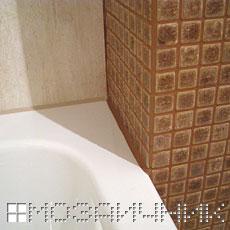Соединение ванны с плиткой фото