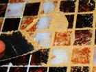 Укладка мозаики, затирка