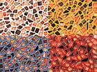 Выкрасы листов мозаики
