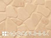 светлая каменная мозаика