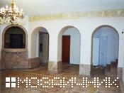 мраморные арки пол