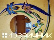 зеркало мозаичное панно