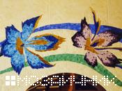 элемент мозаичного панно
