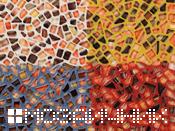 цветная мозаика затирка