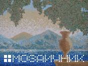 укладка мозаичного панно