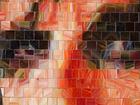 Мозаичные панно из витражного стекла