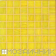 Стеклянная мозаика затерта рыжей эпоксидной затиркой фото