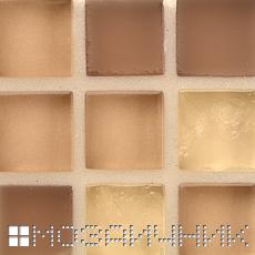 Стеклянная затирка не меняет внешний вид мозаики фото