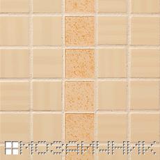 Керамическая мозаика FAP, белая эпоксидная затирка осветляет керамическую мозаику фото