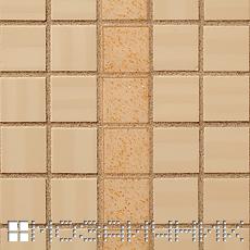 Керамическая мозаика FAP, Желтовато бежевая эпоксидная затирка с золотым наполнителем фото