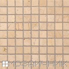 Контрастная затирка изменяет внешний вид мраморной мозаики фото