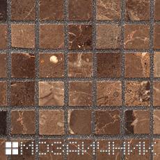 Черная эпоксидная затирка с перламутром для мраморной мозаики фото
