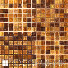 Мозаика сфотографирована в двух уровнях освещения, естественное освещение с включенной задней подсветкой фото