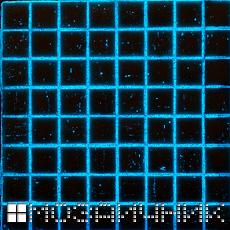 Фотолюминесцентное свечение в белой эпоксидной затирке фото