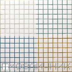 Стеклянная мозаика затертая разными цветами эпоксидной затирки фото