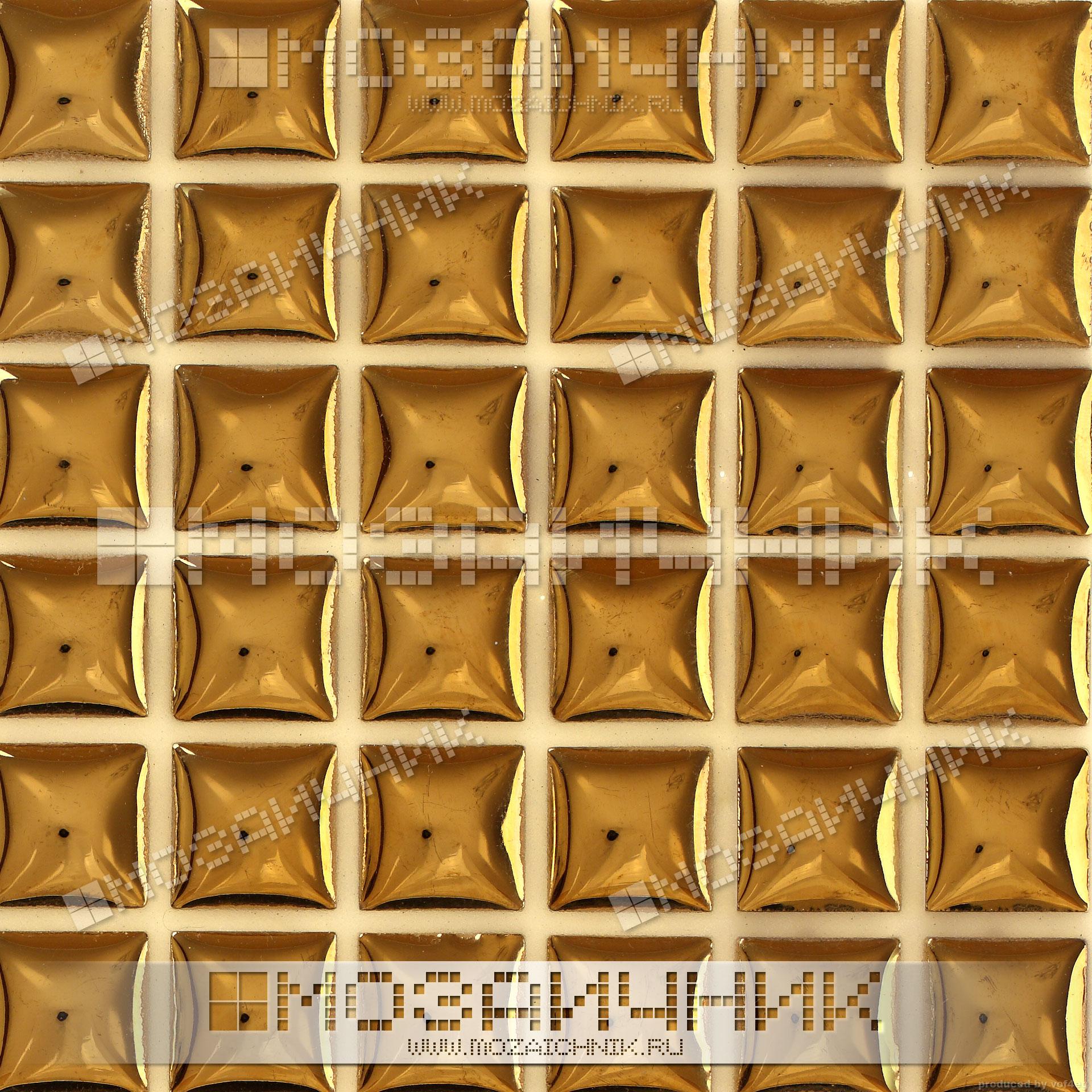 Мозаика под золото