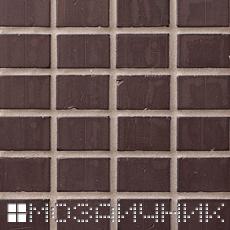 Каменная мозаика затерта серой эпоксидной затиркой фото