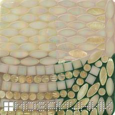 Мозаика снята в двух уровнях освещения, основного освещение с включенной задней подсветкой фото