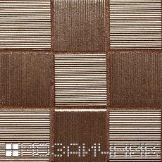 Затирка в тон коричневых вставок фото