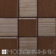 Эпоксидная затирка легко очищается очистителем с рифленой поверхности мозаики фото