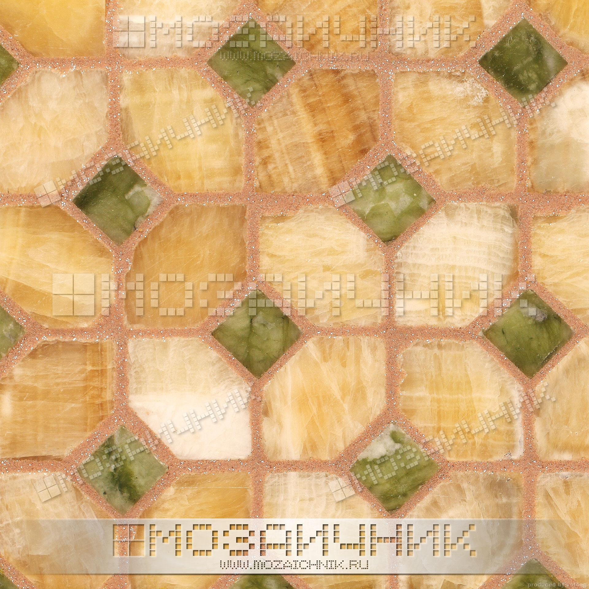 Раскладка мозаики