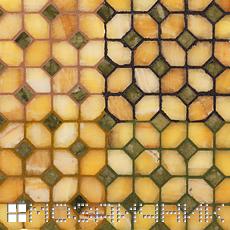 Фотография в 2 уровнях подсветка сзади мозаики и свет сверху фото