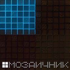 Светящаяся фотолюминесцентная добавка в белой затирке фото
