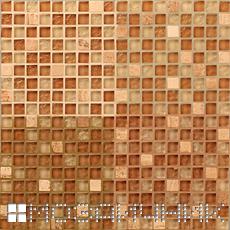 Стеклянная мозаика затертая эпоксидными затирками фото
