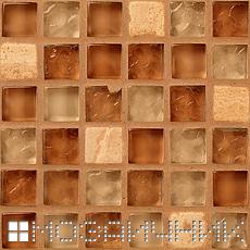 Стеклянную мозаику не затирают цементной затиркой фото