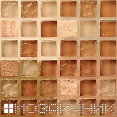 Использую разные цвета затирки, можно кардинально изменять внешний вид любой мозаики фото