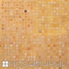 Мозаика из оникса, подсветка сзади мозаики и основной свет сверху фото