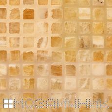 Макроснимок затертого оникса, разная фактура эпоксидной и стеклянной затирки фото