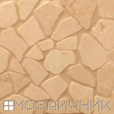 Нейтральна эпоксидная затирка с каменной мозаикой фото