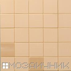 Цвет затирки совпадает с цветом мозаики - затерта тон в тон фото
