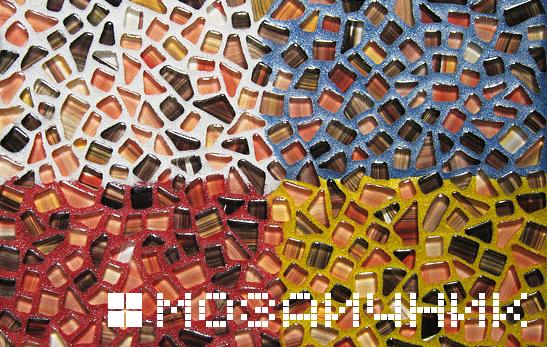 Затирка для стеклянной мозаики